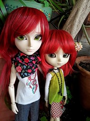 Greg y Alison Bendel (Lunalila1) Tags: doll groove taeyang pullip handmade outfit costura grell alison greg bendel family brothers