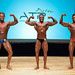 Men's bodybuilding Middleweight - 2nd Anthony Goulet 1st Maxime Deslongchamps 3rd David Bernard