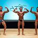 Men's bodybuilding Middleweight - 2nd Anthony Goulet 1st Maxime Deslongchamps 3rd David Bernard