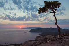 View atop the Monolithos Ruins (Rhodes Island) (samrizzophoto) Tags: nikon d90 sam rizzo photography nikkor lens greece rhodes island monolithos ruins flickr pics photos view clouds sunset color colour