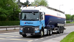 FX66 DCE (Martin's Online Photography) Tags: renault seriest truck wagon lorry vehicle freight haulage commercial transport tanker nikon nikond7200 a580 leigh lancashire