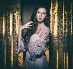 Behind the scenes (Pawel Wietecha) Tags: girl woman model studio actress new people light face eyes look hand hair portrait pretty glamour beauty makeup art