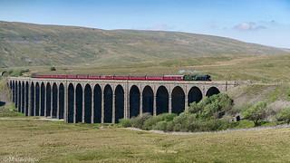 Flying Scotsman - Ribblehead Viaduct