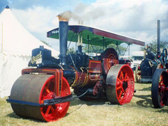 Burrell Steam Road Roller (SR Photos Torksey) Tags: steam transport traction road roller engine rally vehicle vintage classic show burrell