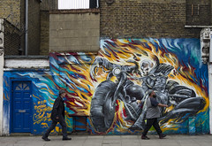 Falkirk Street, Hoxton (London Less Travelled) Tags: uk unitedkingdom england britain london hoxton hackney graffiti street urban art