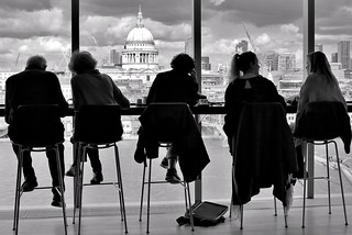 London: Coffee with a view....