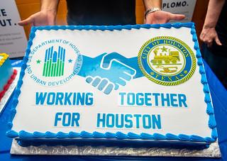 2018 Houston Hurricane Harvey Disaster Recovery Visit, Day 2