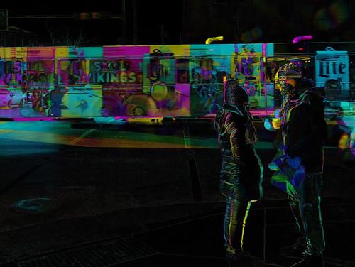 Street conversation (Subtractive filter HSE)