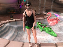 It's 4/20 Somewhere (EnviouSLAY) Tags: beusame zoom modulus noche riot belleza bento catwa dufaux beard facialhair facial hair snapback hathair hat brunette sunglasses black green swimshorts shorts swim poolside pool side poolscene vacationscene vacation secondlifefashion secondlifephotography smoking 420 newreleases new releases shinyshabby shiny shabby mom mensonlymonthly mens only monthly mensevent mensfashion mensfair mensmonthly monthlymen monthlyfashion monthlyfair monthlyevent event fair fashion pale male gay blogger secondlife second life photography