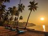 Corbyn Cove Beach - Andaman, India (Kartik Kumar S) Tags: corbyn beach port blair portblair andaman india sunrise coconut benches