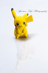 Pikachu (Aperture Life Photography) Tags: pikachu product photography sony a7 r2 55mm zeiss lens reflection pokemon macro still