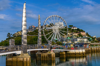 The wheel at Torquay.