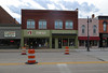 Building — Albion, Michigan (Pythaglio) Tags: calhouncounty michigan historic building structure commercial albion twostory brick storefronts street barrels construction 11windows sills corbelling corbelled brickwork piers 1904