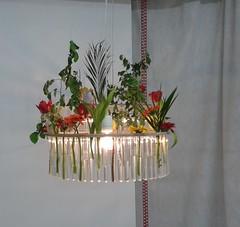 Lampadario con fiori (Aellevì) Tags: luce accessori arredamento