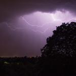 Gewitter über Obersasbach thumbnail