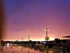 20180514_201805 (d1pinklady) Tags: sunset colors purple orange storm airport dulles va tower clouds rain mcclean tysons tysonscorner