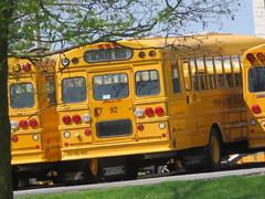 Freeman Bus Corp. #92 (ThoseGuys119) Tags: freemanbuscorp schoolbus watertownny thomasbuilt freightliner fs65 c2 saftliner yellowbumpers