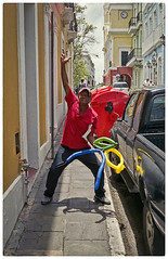 Dedicada A Ricardo (SamyColor) Tags: yashicaelectro35gsn yashinoncolordxf17 fujisuperia200 color colori colorido colores colors colours fotografiacallejera streetphotography sanjuan oldsanjuan viejo san juan viejosanjuan puertorico