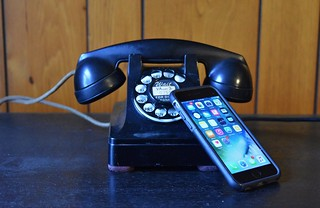 Western Electric 302 and Apple iPhone
