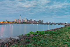 New York skyline (Mohsen_Jabali) Tags: sunset skyline dark dusk newyork new york city nyc landscape nikond750 america usa eastcoast summer vacation colorful park manhattan liberty state libertystatepark newjersey nikon 24120mm night evening ocean trip travel tourism lights