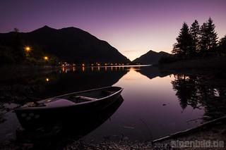 Walchensee Purple Hour
