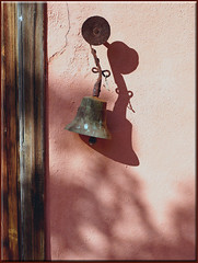for whom the bell tolls (mhobl) Tags: bell glocke khenfouf wall maroc morocco