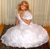 wedding gown (Martina H.) Tags: woman girl bride wedding gown dress blonde elegant satin silk