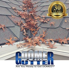 Don't worry - GutterDome has your back! (GutterDome) Tags: gutterprotection gutterguard guttercleaning guttercover gutter gutters award winning pine needles debris dirt leaves downspout roof roofs roofing spring summer fall winter seattle portland dallas