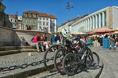 D71_6159A (vkalivoda) Tags: city marketplace vegetablemarket zelnýtrh brno place bike people