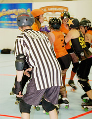 199 (Bawdy Czech) Tags: lcrd lava city roller dolls spit fires basin bombers bend or oregon april 2018 skate derby wftda flat track bout