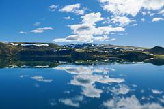 Reflection on Snaefellsnes peninsula (MmeBlublu) Tags: snaefellsnes ciel péninsula péninsule iceland islande water eau sun soleil sky lac lake landscape paysage snow mountain neige montagne