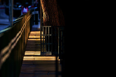 Under The BoardWalk  !!! (imagejoe) Tags: vegas nevada street strip color photography photos shadows reflections tamron people nikon