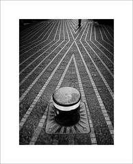pole postition (ekkiPics) Tags: bordeaux pavement blackandwhite fineart lines pole