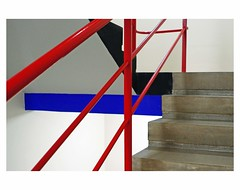 (bruXella & bruXellus) Tags: treppenhaus staircase cagedescalier ateliergebäude prellerhaus gropius bauhaus modernism modernisme dessau leicax1