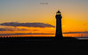 Silhouette of a lighthouse (davenewby123) Tags: new brighton lighthouse purge rock seascape breaking waves newbrightonlighthouse perchrock newbrighton bigwaves strongwinds merseyside rivermersey unitedkingdom uk big sunset sunrise strongwinsbigwaves outdoor tower architecture davidnweby water wave sonya7iii