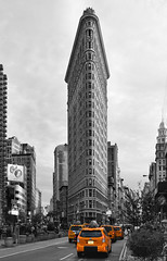 flatiron (poludziber1) Tags: street streetphotography skyline sky city colorful cityscape color ny nyc newyork architecture america building blackwhite urban travel yellow