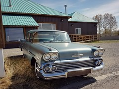 1958 Chevrolet Biscayne (dave_7) Tags: 1958 chevrolet biscayne classic car alberta