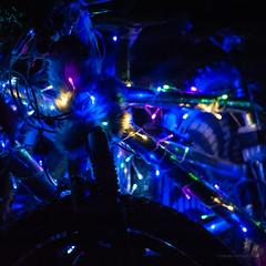 Blue bike, AfrikaBurn (Paul Perton) Tags: afrikaburn d700 nikkor105mmf25 nikon southafrica tankwakaroo art bike candid costume desert music performance sand square themecamps
