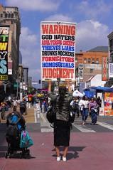 Sunday On Broadway - DTLA (Joey Z1) Tags: zealot religiousfanatic streetscene sundayonbroadway downtownlosangeles dtla urbanlife streetscenela lifeinthestreet sola urbanscene urbanla fiestabroadwaylosangeles polychromatic pentaxks1 bylaphotolaureatejoeyzanotti