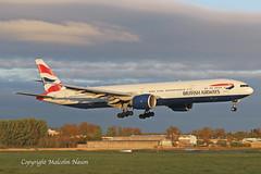 B777-36N G-STBB BRITISH AIRWAYS (shanairpic) Tags: jetairliner passengerjet b777 boeing777 triple7 shannon britishairways gstbb