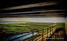 Day 127 (lizzieisdizzy) Tags: sundown sunset sky greatyarmouth norfolk bridge railings path pathway water breydonwater newbridge thenorfolkbroads west clouds serene peaceful beautifullight