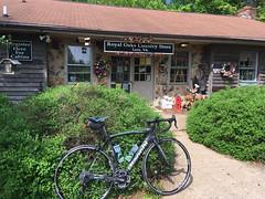 BRP Ride (Bob Mical) Tags: blueridgeparkway royaloaks cabin bicycle bianchi oltrexr1 cycling virginia