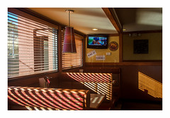 Pizza Hut (philippe*) Tags: pizzahut yuccavalley interior restaurant light desert shades