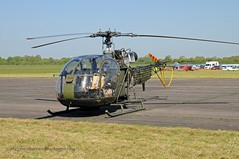 Sud Aviation SE3130 Alouette AH2 DSC_2573 (stephenturner photography) Tags: abingdon airshow sudaviation se3130 alouette ah2