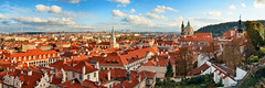红色的海洋 (BestCityscape) Tags: 布拉格 捷克共和国 建筑 旅行 prague czech republic architecture europe travel square castle 教堂 cathedral