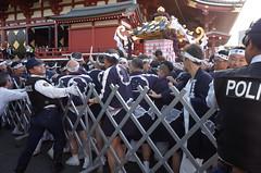 Asakusa Sanjya Festival (seiji2012) Tags: 浅草 祭り 神輿 宮出し 東京 tokyo mikoshi shrine temple police
