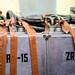 Kernkraftwerk Lubmin: Beschriftete Stromleitungen