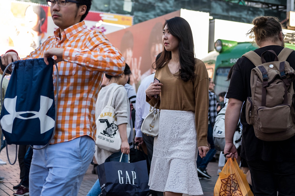Otngagged asian voyeur couple