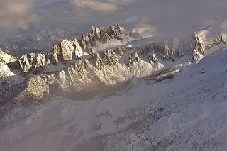 Italy, winter Dolomites