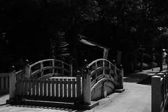 Bridge over which God crosses (k-o-m-a-n-e-k-o) Tags: nikon d750 cross bridge god shrine 橋 神社